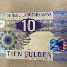 Billetes extranjeros: BILLETE 10 TIEN GULDEN 1997 NEDERLANDS. Lote 236244180
