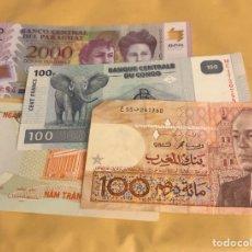 Billetes extranjeros: LOTE DE 4 BILLETES EXTRANJEROS. Lote 236247145