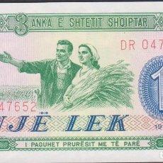 Notas Internacionais: BILLETES ALBANIA - 1 LEK 1976 - SERIE DR 047645 - PICK-40 (SC). Lote 236859660