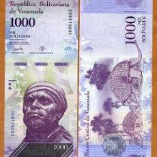 Billetes extranjeros: VENEZUELA - 1000 BOLIVARES DE 2017 - SIN CIRCULAR. Lote 237473010