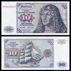 Billetes extranjeros: ALEMANIA: 10 MARCOS.. Lote 262936395