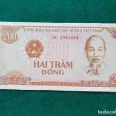 Billetes extranjeros: BILLETES EXTRANJEROS: VIETNAM - 200 DONG DE 1987 - SIN CIRCULAR. LOTE 223586435 VIETNAM - 200 DONG D. Lote 241327585