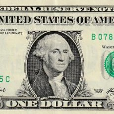 Billetes extranjeros: BILLETE 1 DOLAR ESTADOS UNIDOS AMERICA EEUU USA GEORGE WASHINGTON AÑO 2006 RESERVA FEDERAL. Lote 242105950