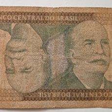 Billetes extranjeros: BILLETES BRASIL 1000 CRUZEIROS EL DE LA FOTO. Lote 242128105