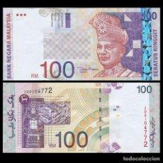 Billetes extranjeros: MALAYSIA 100 RINGGIT 2001 P 44D UNC. Lote 243519135
