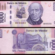 Billetes extranjeros: MEXICO 1000 1,000 PESOS 2006 P 127A SERIE A UNC. Lote 243519420