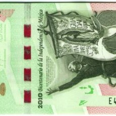 Billetes extranjeros: MEXICO 200 PESOS 2008 P 129 COMM INDEPENDENCE ISSUE UNC. Lote 243519455