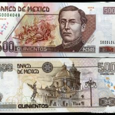 Billetes extranjeros: MEXICO 500 PESOS 2000 P 119A UNC. Lote 243519530