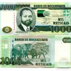 Billetes extranjeros: MOZAMBIQUE 1000 1,000 METICAIS 2011 P 154A UNC. Lote 243519920