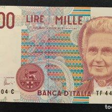 Billetes extranjeros: CMC ITALIA (ITALY) 1000 LIRAS 1990-94 PICK 114-C SC. Lote 243863655