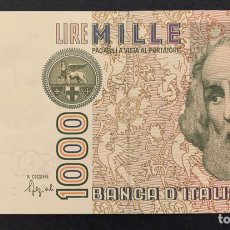 Billetes extranjeros: CMC ITALIA (ITALY) 1000 LIRAS 1982 PICK 109-B SC. Lote 243864320