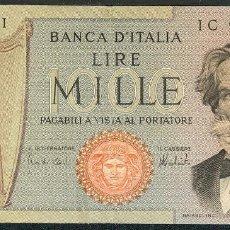 Billetes extranjeros: CMC ITALIA (ITALY) 1000 LIRAS 1975 PICK 101-D BC. Lote 243870560