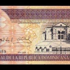 Banconote internazionali: REPÚBLICA DOMINICANA 50 PESOS ORO 2008 PICK 176B SC UNC. Lote 285235823