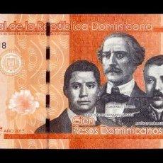 Banconote internazionali: REPÚBLICA DOMINICANA 100 PESOS DOMINICANOS 2017 PICK 190D SC UNC. Lote 290913698