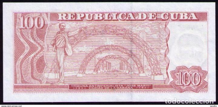 Billetes extranjeros: CUBA 2017 100 PESOS REMPLAZO PLANCHA SC-UNC PICK129IR - Foto 2 - 244819560