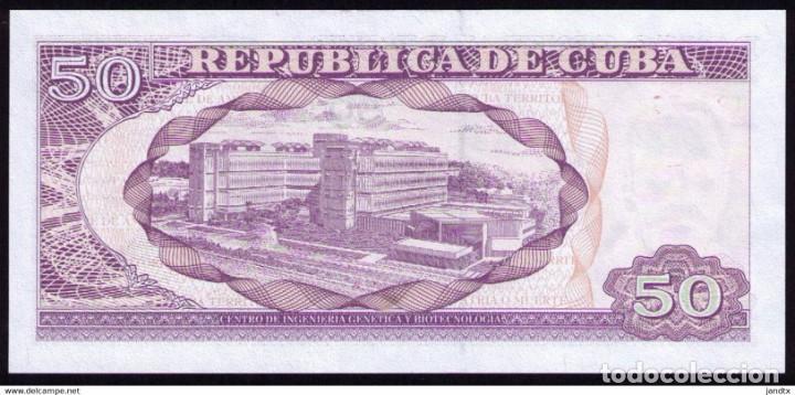 Billetes extranjeros: CUBA 2018 50 PESOS REMPLAZO PLANCHA SC-UNC SECUENCIA PICK123MR - Foto 4 - 244820510