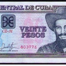 Billetes extranjeros: CUBA 2019 20 PESOS REMPLAZO PLANCHA SC-UNC PICK122MR. Lote 244820760