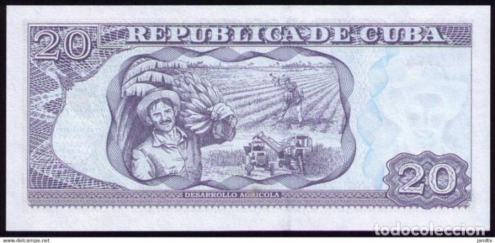 Billetes extranjeros: CUBA 2019 20 PESOS REMPLAZO PLANCHA SC-UNC PICK122MR - Foto 2 - 244820760