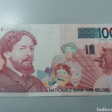 Billetes extranjeros: BILLETE BELGICA 100 FRANCOS 1995 UNC FEDEROTA. Lote 245110455