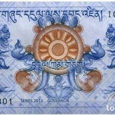 Billetes extranjeros: BUTÁN - BHUTAN 1 NGULTRUM 2013 PK 27B SIN CIRCULAR. Lote 245129620