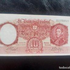 Banconote internazionali: ARGENTINA. 10 PESOS SC-. Lote 245264910