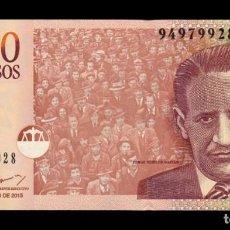Banconote internazionali: COLOMBIA 1000 PESOS 2015 PICK 456T SC UNC. Lote 291443788