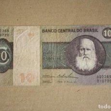 Billetes extranjeros: BRASIL - 10 CRUZEIROS BC-. Lote 245394375
