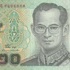 Billetes extranjeros: TAILANDIA 20 BAHT 2003. Lote 245910130