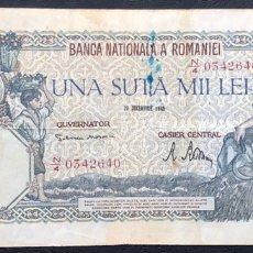 Billetes extranjeros: BILLETE RUMANIA 100,000 LEÍ 1946 MBC.. Lote 245921240