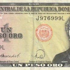 Billetes extranjeros: REPÚBLICA DOMINICANA. Lote 245921775
