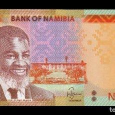 Billetes extranjeros: NAMIBIA 20 DOLLARS 2018 PICK 17B SC UNC. Lote 246188190