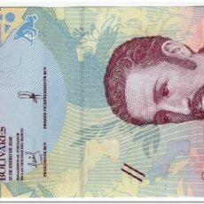Billetes extranjeros: VENEZUELA,5 BOLIVARES,2018,P.NEW,UNC. Lote 246660065