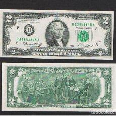 Billetes extranjeros: ESTADOS UNIDOS-USA : 2 DÓLARES 1976 ( H.ST.LUIS.MO. ) SC.UNC. PK. 461. PREFIX A. Lote 270244348