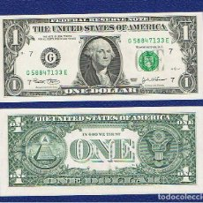 Billetes extranjeros: ESTADOS UNIDOS-USA : 1 DÓLAR 2003 ( G.CHICAGO.IL. ) SC.UNC. PK. 515. PREFIX E. Lote 270244548