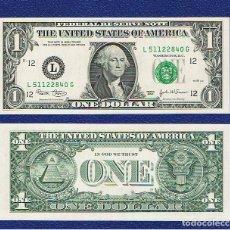 Billetes extranjeros: ESTADOS UNIDOS-USA : 1 DÓLAR 2003 ( L. SAN FRANCISCO.CA.) SC.UNC. PK. 515. PREFIX G. Lote 270244638
