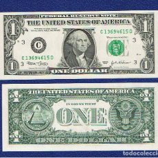 Billetes extranjeros: ESTADOS UNIDOS-USA : 1 DÓLAR 2003 ( C. FILADELFIA, PA. ) SC.UNC. PK. 515. PREFIX D. Lote 270245428