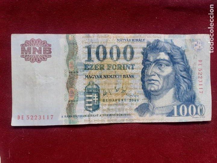 HUNGRÍA. 1000 FORINT 2006 (Numismática - Notafilia - Billetes Internacionales)