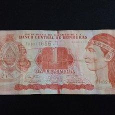 Billets internationaux: BILLETE DE HONDURAS 1 LEMPIRA AÑO 2014. Lote 252574770
