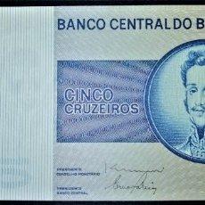 Billets internationaux: BRASIL 5 CRUZEIROS 1970 - 1980. PICK 192. Lote 252801620