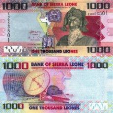Billets internationaux: SIERRA LEONE 1000 1,000 LEONES 2013 (2016) P 30 UNC. Lote 252901215