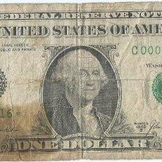 Billetes extranjeros: ESTADOS UNIDOS - UNITED STATES 1 DOLLAR 1969 PK 449B.R AC REPLACEMENT (*). Lote 252969380