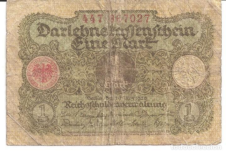 ALEMANIA 1 MARCO 1920 (Numismática - Notafilia - Billetes Internacionales)