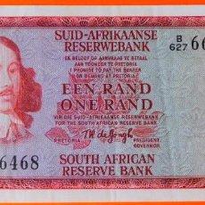 Billetes extranjeros: SUDAFRICA, 1 RAND. (52). Lote 253550215