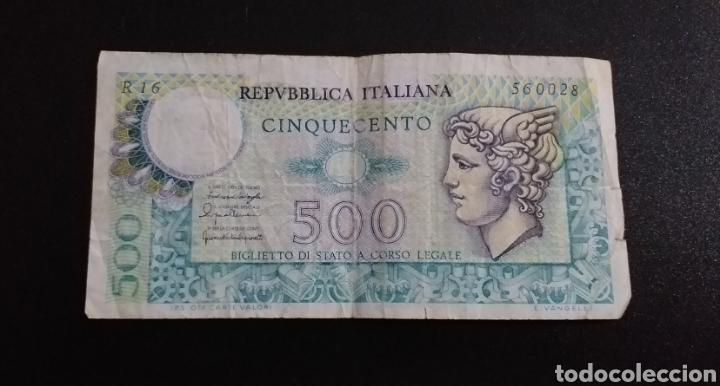 PRECIOS BILLETE 500 LIRAS ITALIA (Numismática - Notafilia - Billetes Internacionales)