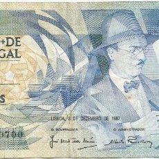 Billetes extranjeros: PORTUGAL 100 ESCUDOS 3-12-1987 PK 179D 6. Lote 254030280