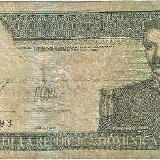 Billetes extranjeros: REPÚBLICA DOMINICANA 10 PESOS ORO 2003 PK 168C. Lote 254056730