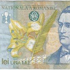 Billetes extranjeros: RUMANÍA 1.000 LEI 1998 PK 106 2. Lote 254057800