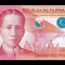 Billetes extranjeros: FILIPINAS PHILIPPINES 50 PISO SERGIO OSMEÑA 2010 PICK 207A SC UNC. Lote 254671815