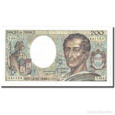 Billetes extranjeros: FRANCIA, 200 FRANCS, MONTESQUIEU, 1983, MBC+, FAYETTE:70.3, KM:155A. Lote 254782980