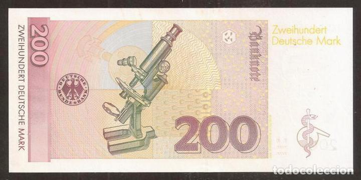 Billetes extranjeros: ALEMANIA FEDERAL. 200 deutsche mark 2.1.1996. Pick 47. S/C - Foto 2 - 254793615